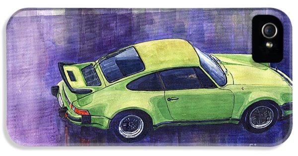 Porsche 911 iPhone 5 Cases - Porsche 911 turbo iPhone 5 Case by Yuriy  Shevchuk