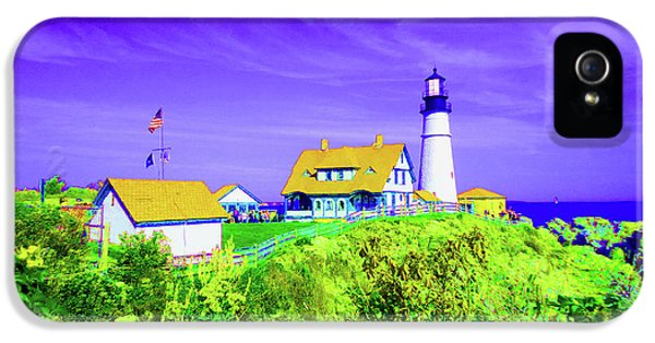 Portland Head Lighthouse IPhone 5 / 5s Case by Ann Johndro-Collins
