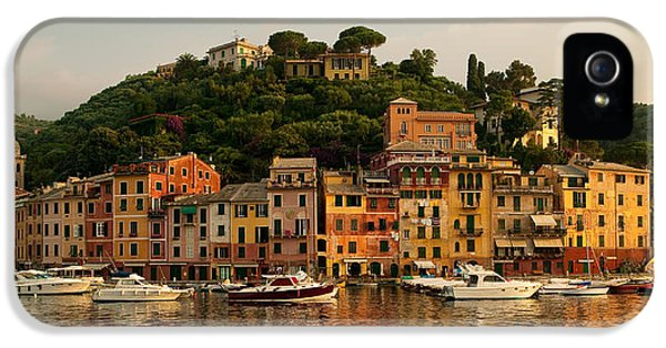 Harbour iPhone 5 Cases - Portofino bay iPhone 5 Case by Neil Buchan-Grant