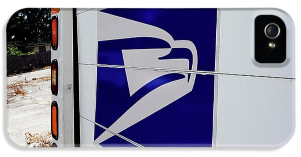 Post Office Truck IPhone 5 / 5s Case by Kenneth Lempert
