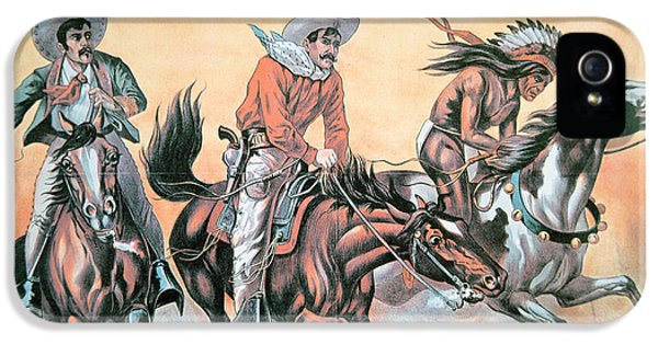 Poster For Buffalo Bill's Wild West Show IPhone 5 / 5s Case by American School