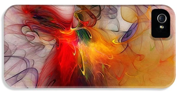 Contemplative iPhone 5 Cases - Powers of Expression iPhone 5 Case by Karin Kuhlmann