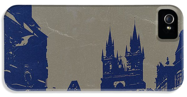 Prague Old Town Square IPhone 5 / 5s Case by Naxart Studio