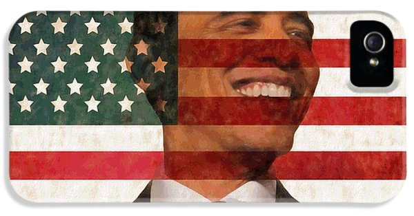 President Obama Hope IPhone 5 / 5s Case by Dan Sproul