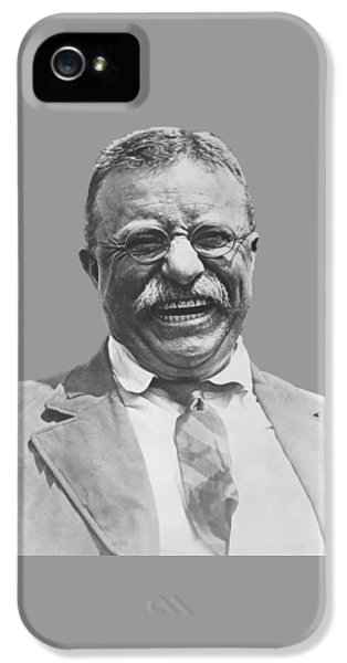 Honor iPhone 5 Cases - President Teddy Roosevelt iPhone 5 Case by War Is Hell Store