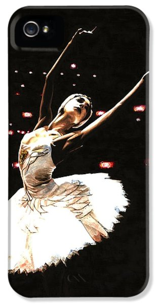 Ballerina iPhone 5 Cases - Prima Ballerina iPhone 5 Case by Richard Young
