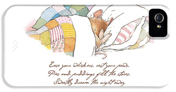 Primrose Goes To Sleep IPhone 5 / 5s Case by Brambly Hedge