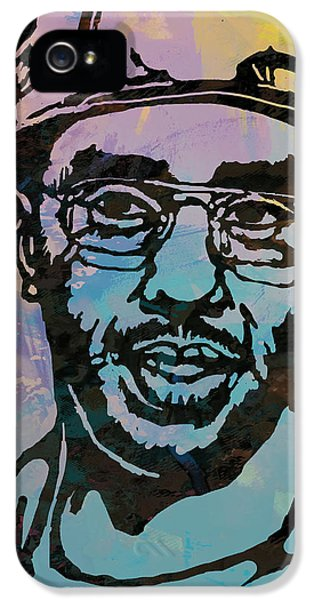 Puff Daddy Pop Stylised Art Poster IPhone 5 / 5s Case by Kim Wang
