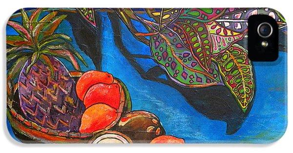 Purple Pineapple IPhone 5 / 5s Case by Patti Schermerhorn