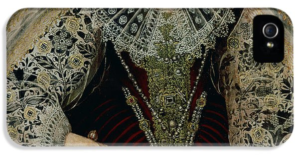 Queen Elizabeth I IPhone 5 / 5s Case by John the Younger Bettes