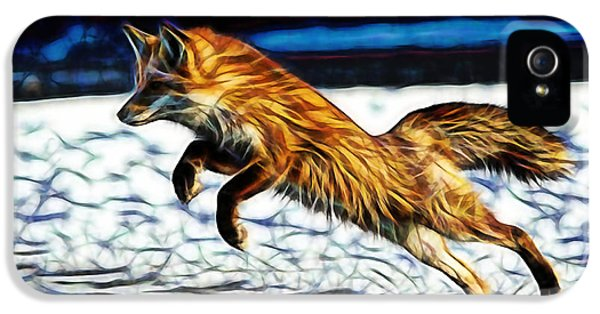 Fox iPhone 5 Cases - Quick iPhone 5 Case by Marvin Blaine