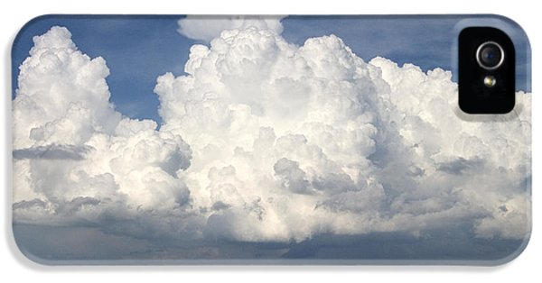 Storm iPhone 5 Cases - Rain Clouds Over Lake Apopka iPhone 5 Case by Carl Purcell