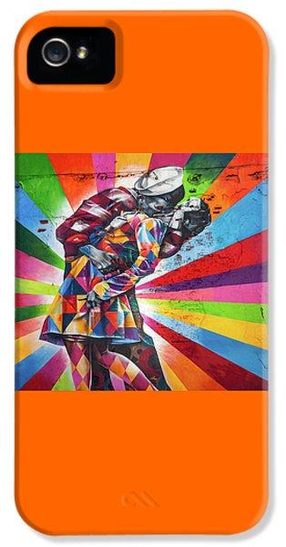 Rainbow Kiss IPhone 5 / 5s Case by Az Jackson