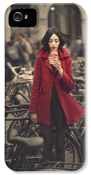 raspberry sorbet in Amsterdam IPhone 5 / 5s Case by Anka Zhuravleva