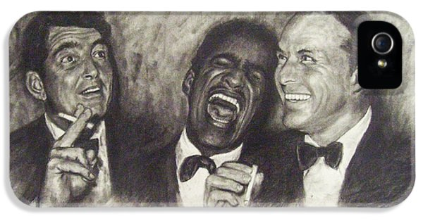 Rat Pack IPhone 5 / 5s Case by Cynthia Campbell