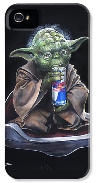 Yoda iPhone 5 Cases - Red Bantha iPhone 5 Case by Tom Carlton