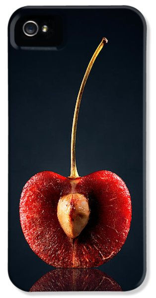 Red Cherry Still Life IPhone 5 / 5s Case by Johan Swanepoel
