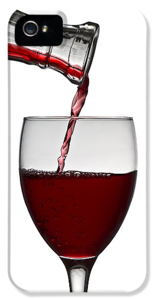 Romantic iPhone 5 Cases - Red Wine iPhone 5 Case by Gert Lavsen