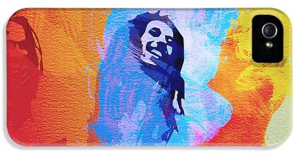 Bob Marley iPhone 5 Cases - Reggae kings iPhone 5 Case by Naxart Studio