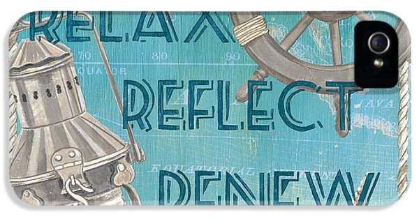 Relax Reflect Renew IPhone 5 / 5s Case by Debbie DeWitt