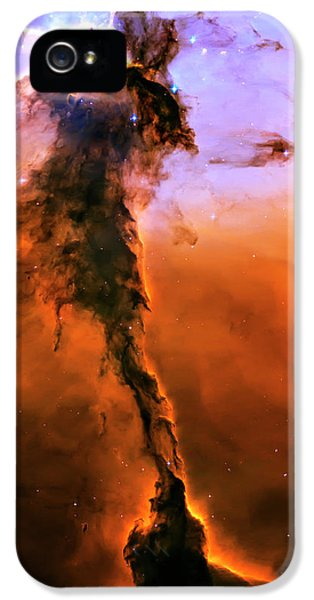 Solar System iPhone 5 Cases - Release - Eagle Nebula 2 iPhone 5 Case by The  Vault - Jennifer Rondinelli Reilly