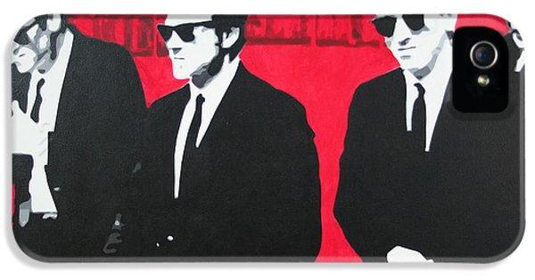 Harvey Keitel iPhone 5 Cases - Reservoir Dogs 2013 iPhone 5 Case by Luis Ludzska