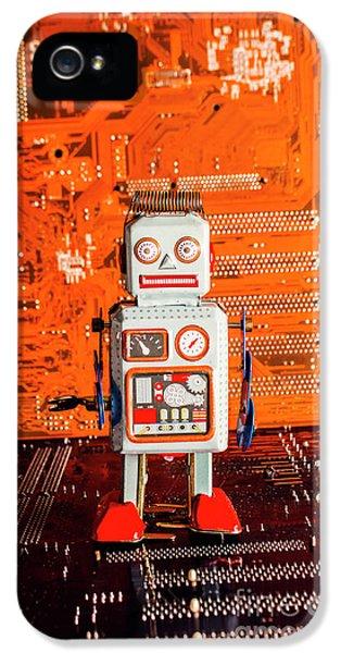 Retro Robotic Nostalgia IPhone 5 / 5s Case by Jorgo Photography - Wall Art Gallery