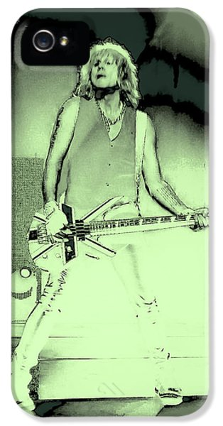 Rick Savage - Def Leppard IPhone 5 / 5s Case by David Patterson