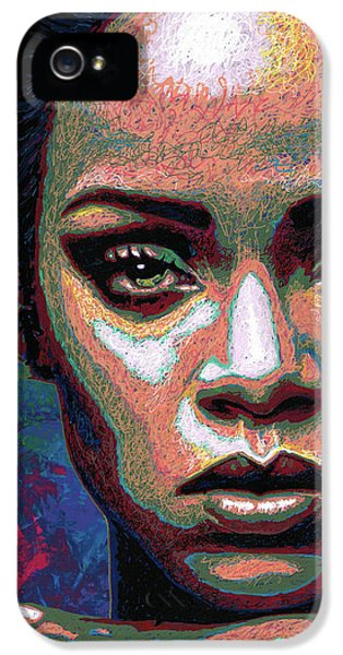 Rihanna IPhone 5 / 5s Case by Maria Arango