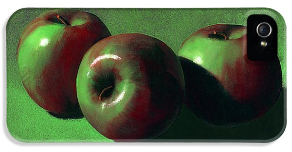 Food iPhone 5 Cases - Ripe Apples iPhone 5 Case by Frank Wilson
