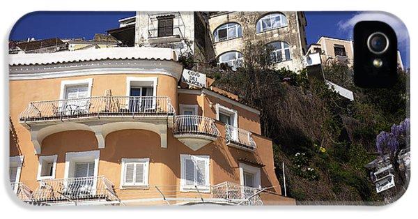 Ristorante iPhone 5 Cases - Ristorante in Positano iPhone 5 Case by John Rizzuto