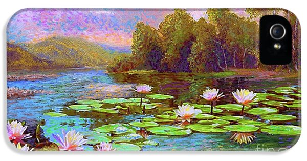 The Wonder Of Water Lilies IPhone 5 / 5s Case by Jane Small