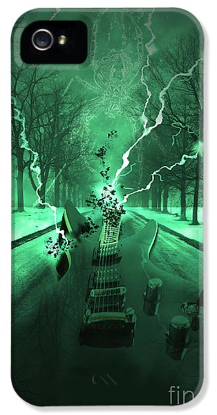 Road iPhone 5 Cases - Road Trip Effects  iPhone 5 Case by Cathy  Beharriell