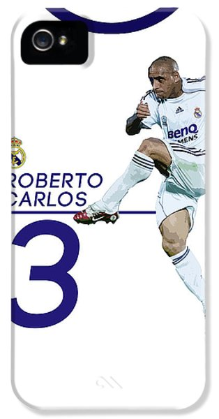 Roberto Carlos IPhone 5 / 5s Case by Semih Yurdabak