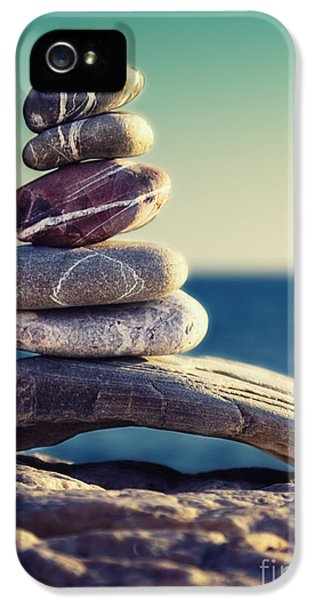 Stone iPhone 5 Cases - Rock Energy iPhone 5 Case by Stylianos Kleanthous