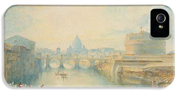 Ancient iPhone 5 Cases - Rome iPhone 5 Case by Joseph Mallord William Turner