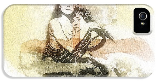 Mo T iPhone 5 Cases - Romeo and Juliet iPhone 5 Case by Mo T