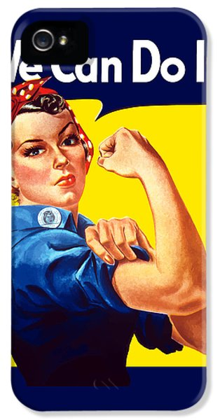 Rosie The Rivetor IPhone 5 / 5s Case by War Is Hell Store