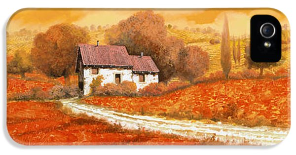 Rosso Papavero IPhone 5 / 5s Case by Guido Borelli
