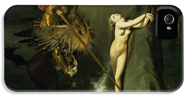 Ruggiero Rescuing Angelica IPhone 5 / 5s Case by Ingres