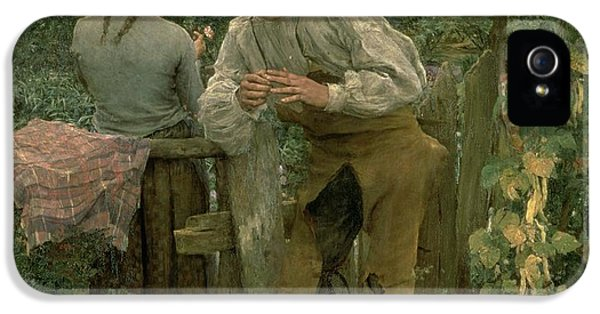 Rural Love IPhone 5 / 5s Case by Jules Bastien Lepage