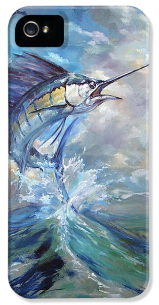 Sailfish And Frigate IPhone 5 / 5s Case by Tom Dauria