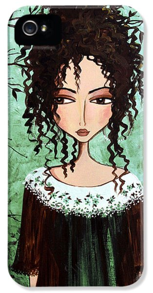 Samantha's Chocolate Tree IPhone 5 / 5s Case by Debbie Horton
