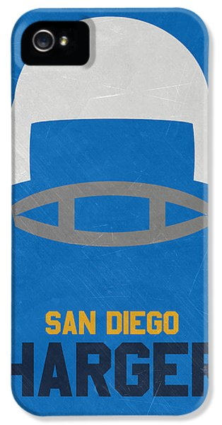 San Diego Chargers Vintage Art IPhone 5 / 5s Case by Joe Hamilton