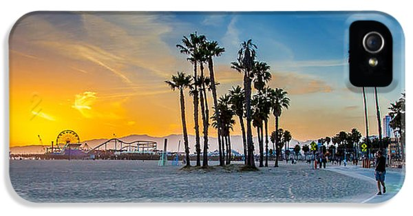 Santa Monica Sunset IPhone 5 / 5s Case by Az Jackson