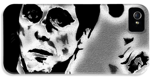 Brian De Palma iPhone 5 Cases - Scarface 3a iPhone 5 Case by Brian Reaves