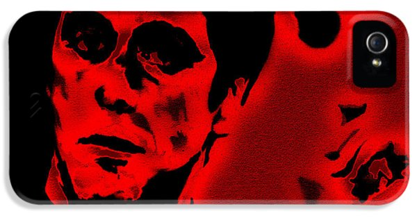 Brian De Palma iPhone 5 Cases - Scarface Red iPhone 5 Case by Brian Reaves