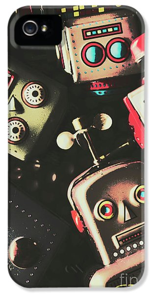 Science Fiction Robotic Faces IPhone 5 / 5s Case by Jorgo Photography - Wall Art Gallery