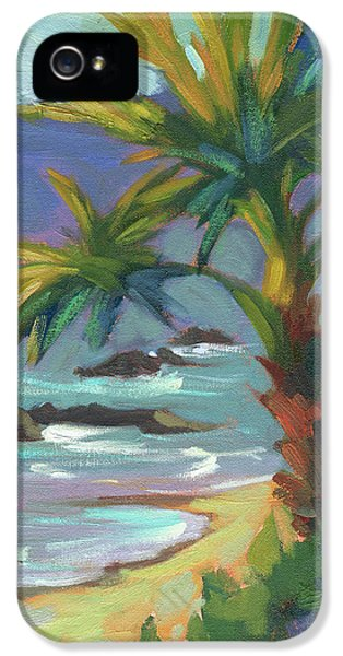 Indian Ocean iPhone 5 Cases - Sea Breeze iPhone 5 Case by Diane McClary