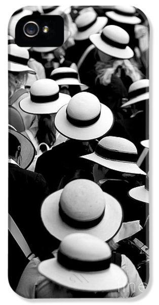Sea Of Hats IPhone 5 / 5s Case by Avalon Fine Art Photography